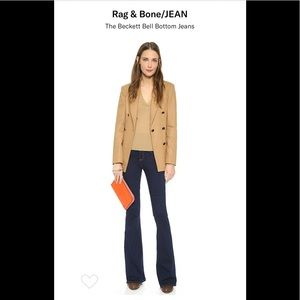 RAG & BONE | Beckett Hi Rise Bell bottom Jeans